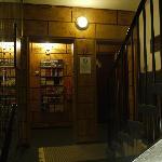 Treppe am Eingang