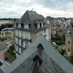 Vue panoramique par une des fenêtres