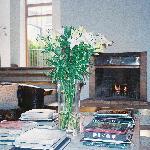 The sunken living room at Number 31