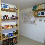 The well stocked Honesty Shop