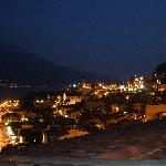 View of Limone form our Balcony at night