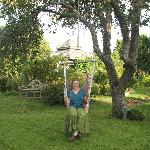 Enjoying the Weston House Garden