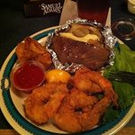 Fried Jumbo Shrimp Plate