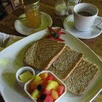 Fresh breads baked daily, homemade preserves, and fresh fruit available daily!  Other breakfast