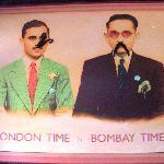 The time-telling mustachioed gentlemen
