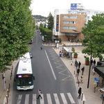 Kyriad Hotel from RER station Arcueil-Cachan