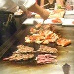 lobster & lamb chop