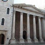 Roman Temple of Minerva (Museo e Foro Romano)