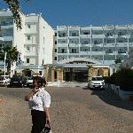 Ingresso dell'albergo