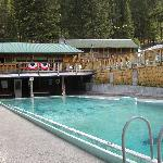 Hot Spring fed Pool