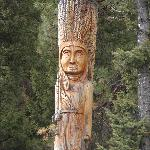 Chief Joseph Carving