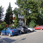 schattige Parkplätze