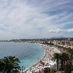 Great view of Nice