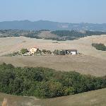 Agriturismo Bellaria visto dalla campagna