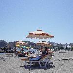 una veduta della spiaggia di Stegna. 50 mt  dal Salora