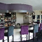 The bar/lounge area