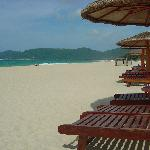 yalong Bay seats on beach
