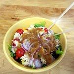 My albacore salad Yummy