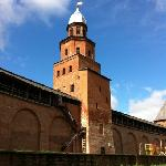 high tower in kremlin