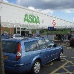 ASDA supermarket near the hotel