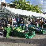 """Saturday Market"" along High Street in Crawley"
