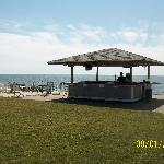 Tiki Bar with Lunch Service at the bar, on the patio, or delivered to your beach chair