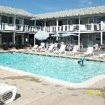 Heated pool & Pool View Rooms