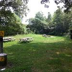one of the campsites