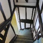 Winding stairs...