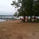 Beach on Miller Lake
