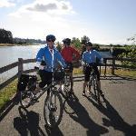 Wonderful bikes provided by Island Joy Rides