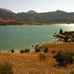 The lake (where we kayaked)