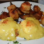 Crab cake benedict.  To die for!!!