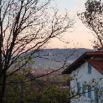 Il tramonto alla Ca' Bianca