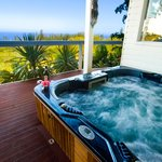 White House Spa with stunning Pacific Ocean View