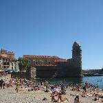 Le fameux clocher de Collioure