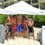 Beach staff- Ivan, Fredo and Marco -they were the best!!