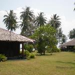 The resort gardens