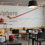 Frühstück im Alphorn Interlaken