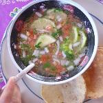 Lime Soup...yummy!!