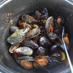 Fresh Mediterranean Mussels