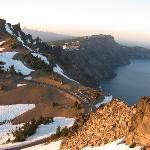Crater Lake @ Sunset
