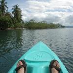 kayak a los manglares desde playa de lapamar