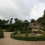 View towards Manners from garden of Harthill Hall