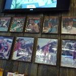 retro sports posters