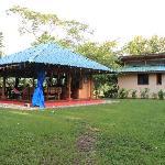 Gartenpavillon und Gästehaus