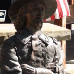 Custer Bust at Entrance
