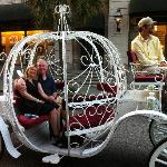 Carriage Ride arranged by hotel