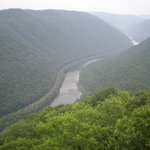 Scenic overlook - Grandview Park, West Virginia