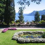 una immagine dei giardini